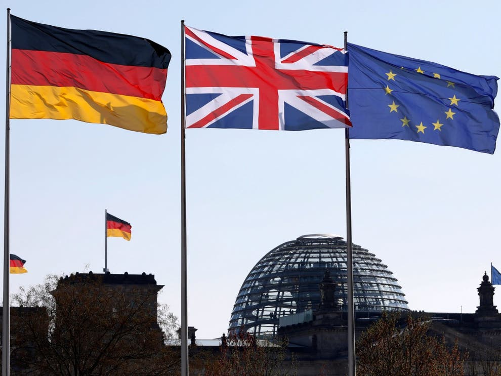 UK set to drop from Germanys top 10 trading partners