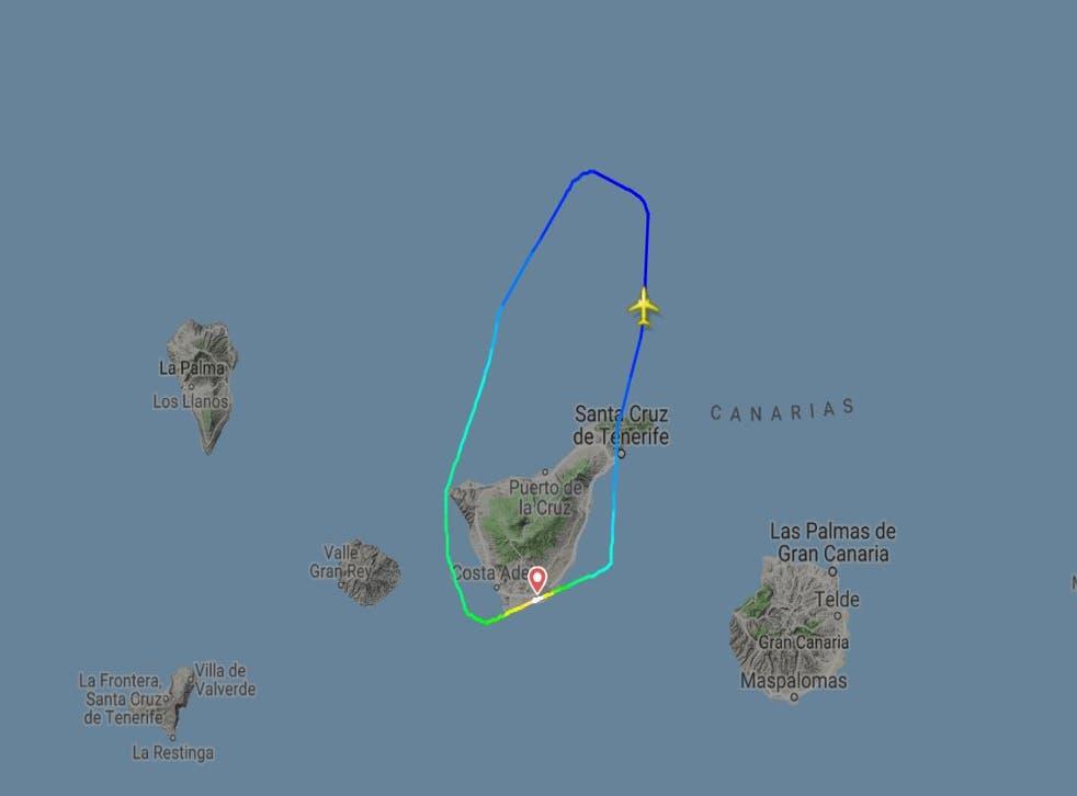 A Ryanair declared a mid-air emergency