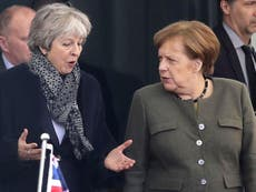 Merkel backs 'longer' Brexit delay than requested by Theresa May