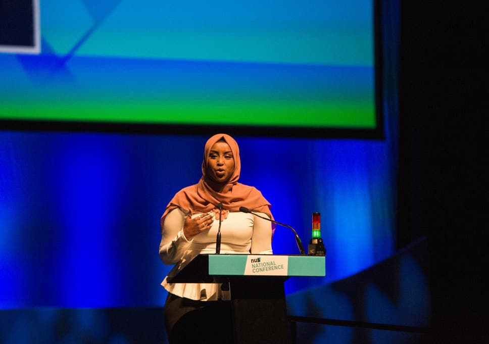 Zamzam Ibrahim has been elected as the new president of the National Union of Students