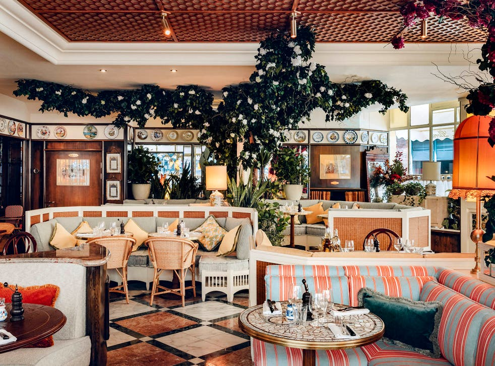 Gloria's maximalist excess, designed to evoke 1950s Capri, has been hailed as a last pre-Brexit hurrah