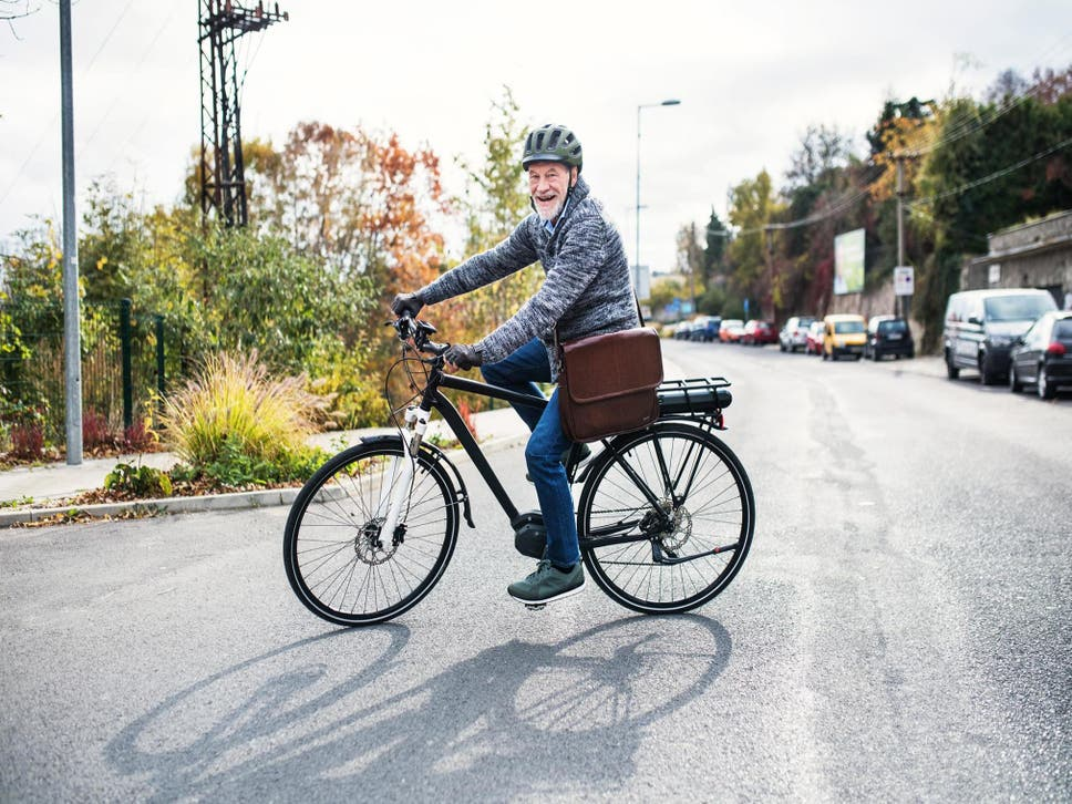 E-biking is beneficial for the over 50 population