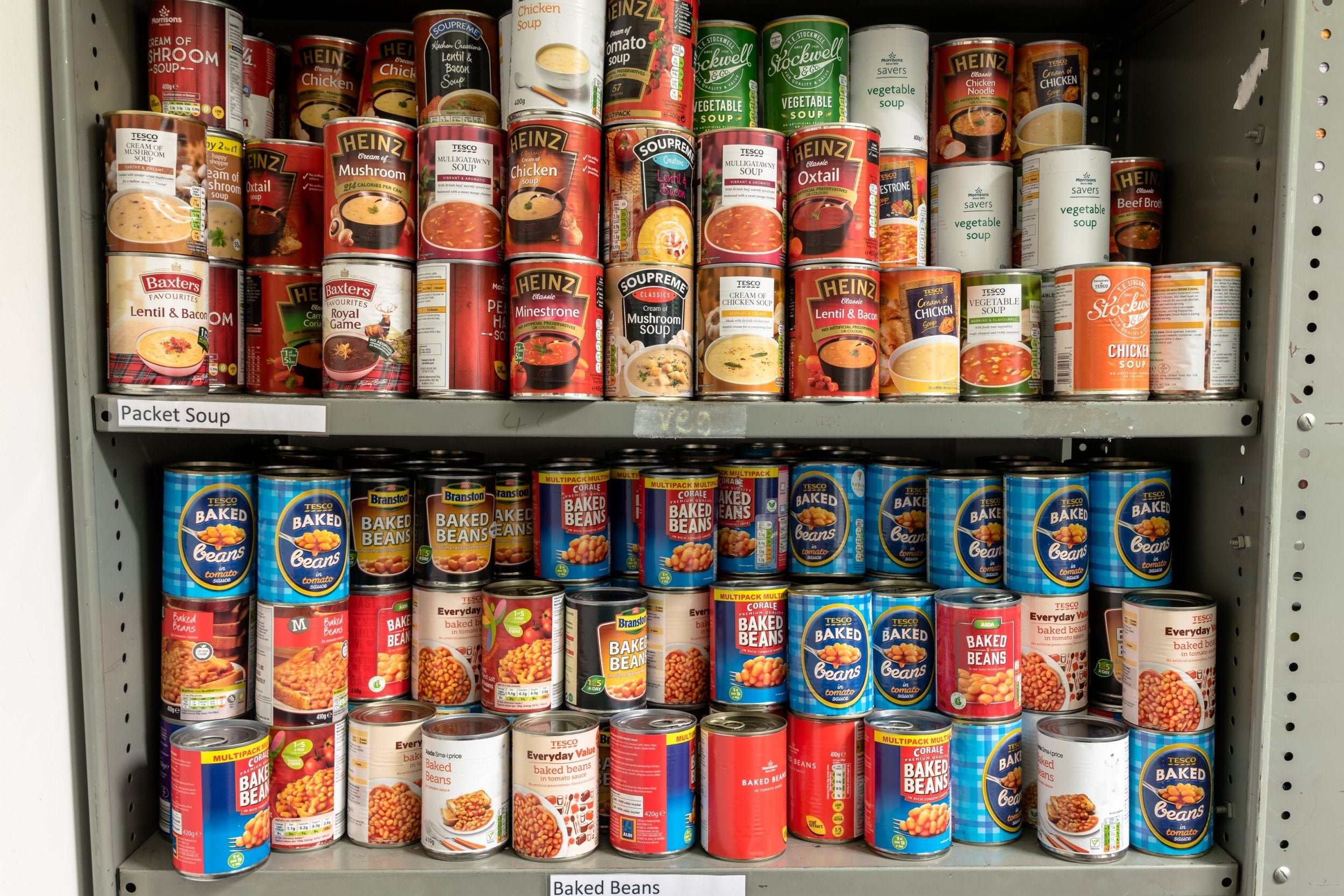 A Steady Rise In Food Bank Use Is A Stark Reminder That