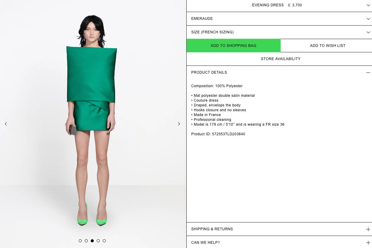 0f65e0d6936 Balenciaga dress that costs £3