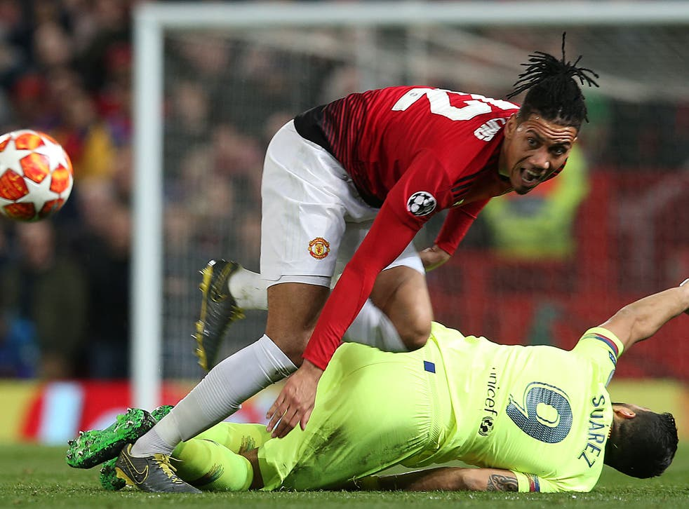 Chris Smalling believes Manchester United shut down Barcelona at Old Trafford