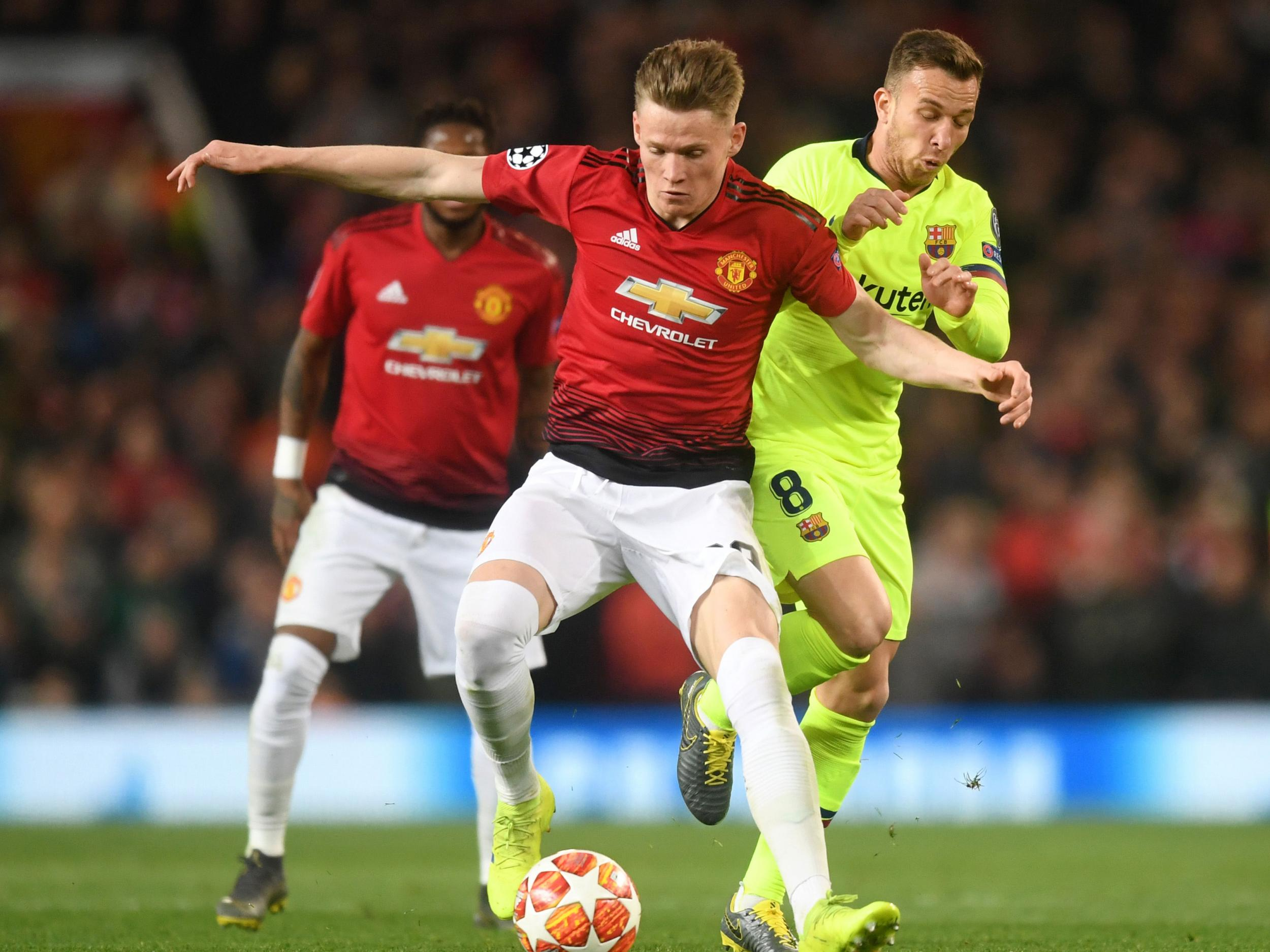 Image result for mctominay vs barcelona