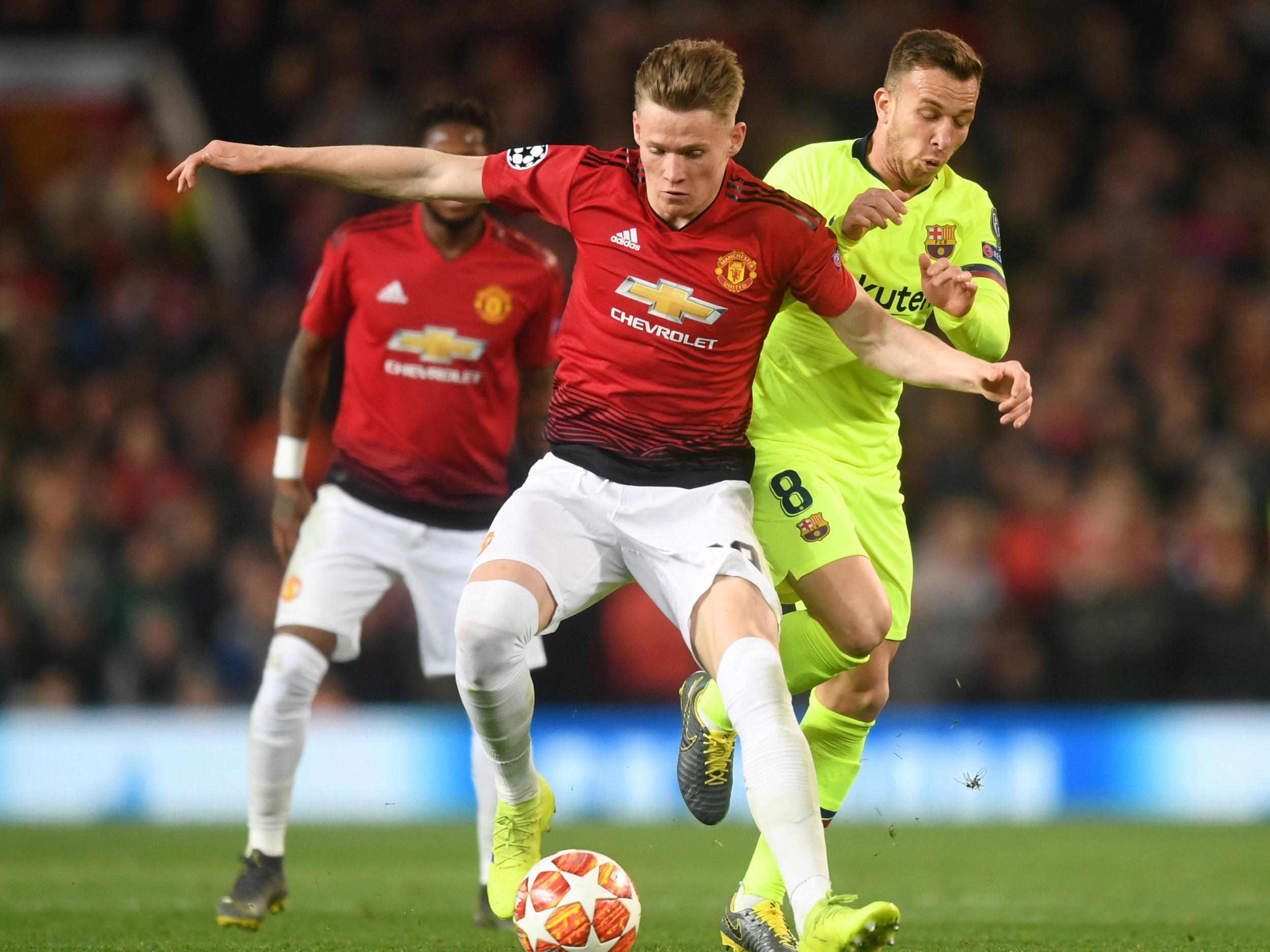 ef29aaee9 Manchester United vs Barcelona  A celebration of Scott  McSauce  McTominay