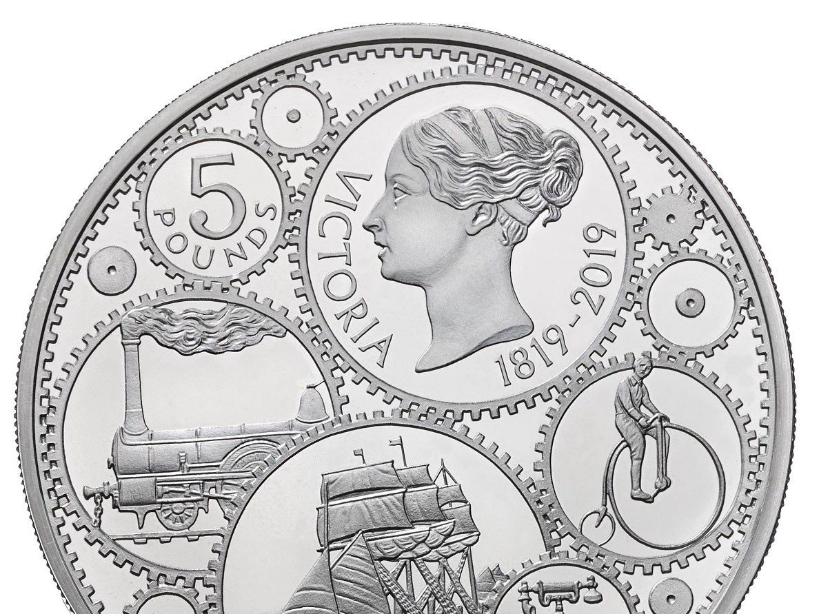 New Royal Mint coins commemorate 200th anniversary of Queen Victoria's birth
