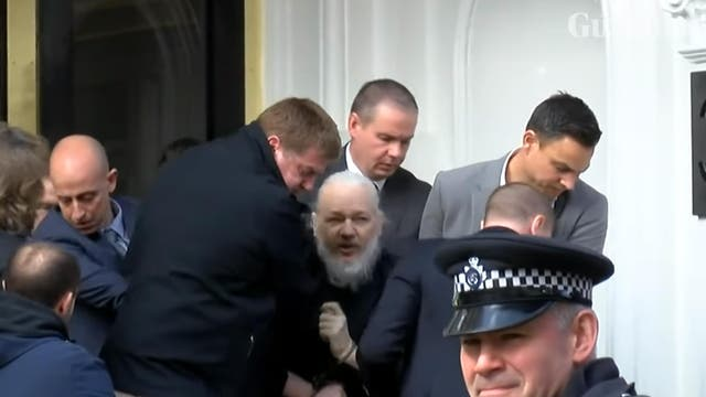 Assange was arrested after Metropolitan Police officers were invited into the Ecuadorian embassy on April 11 2019. How did it come to this?