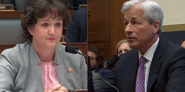 Democrat congresswoman Katie Porter grills JP Morgan CEO