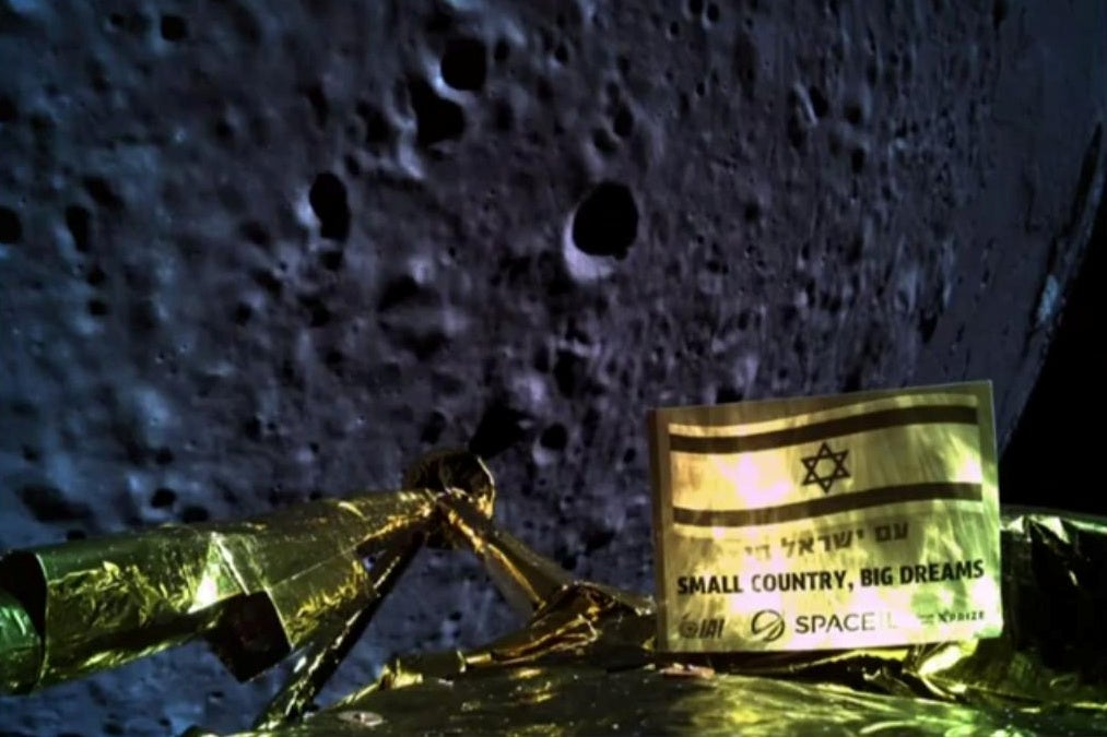 Beresheet: Israel spacecraft crashes during historic moon landing attempt, SpaceIL support team says