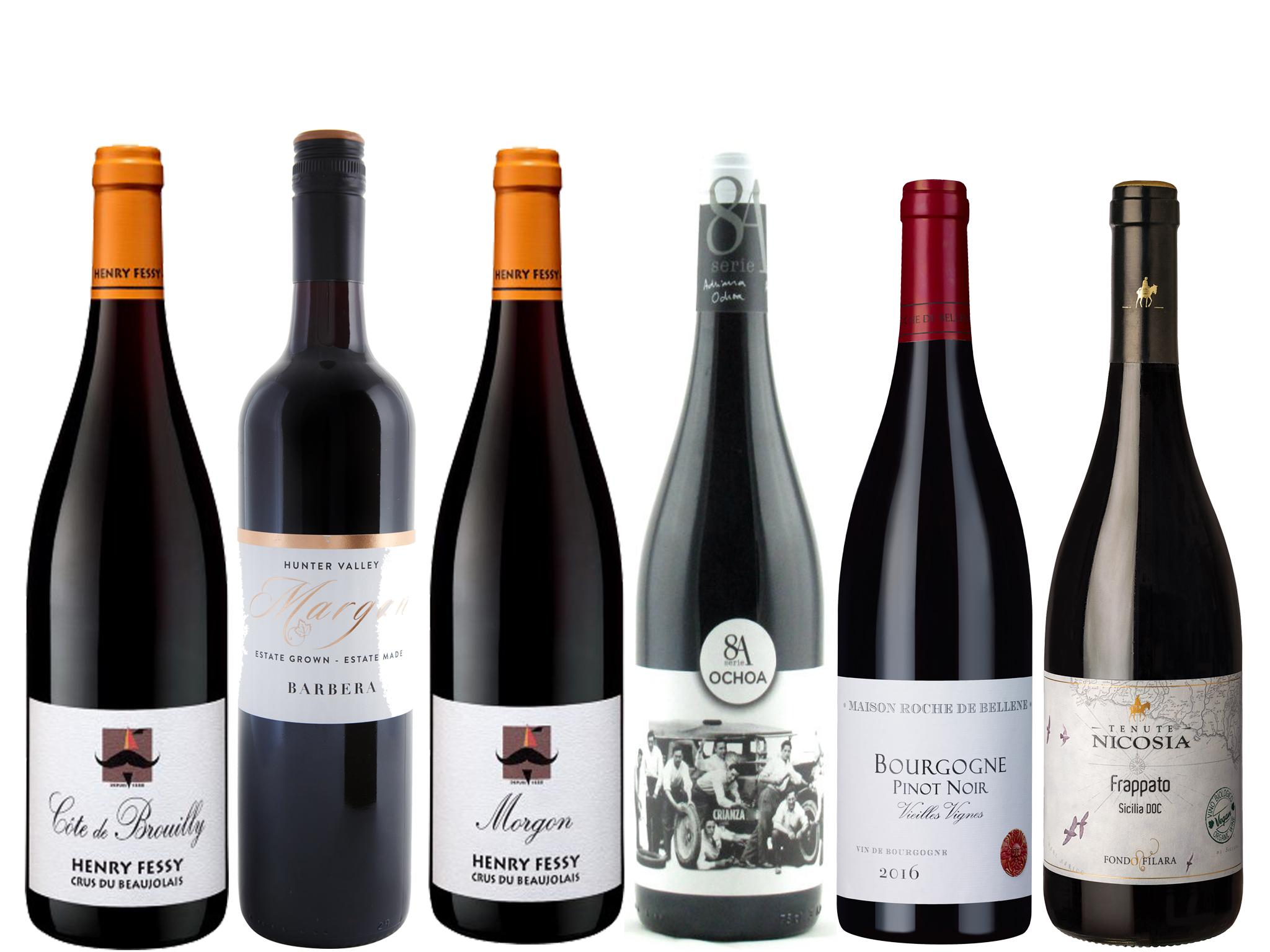 Wines of the week: 8 spring reds 1