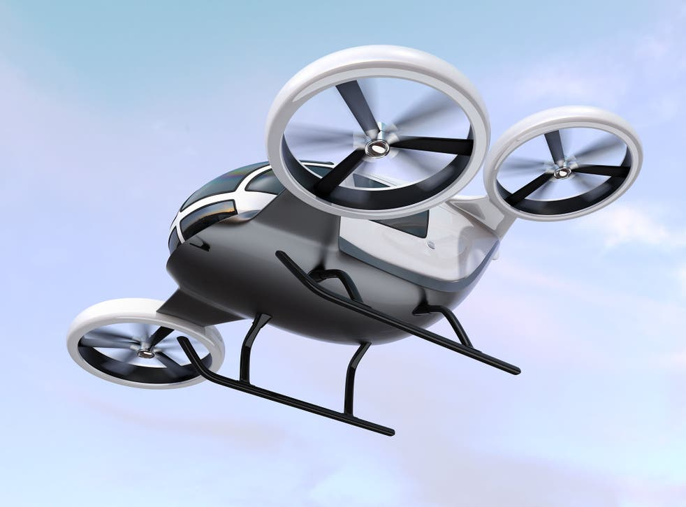 Scientists and engineers are working to bring flying cars into the commercial market