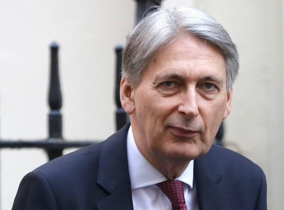 Chancellor Philip Hammond is due to speak at the Resolution Foundation on Thursday