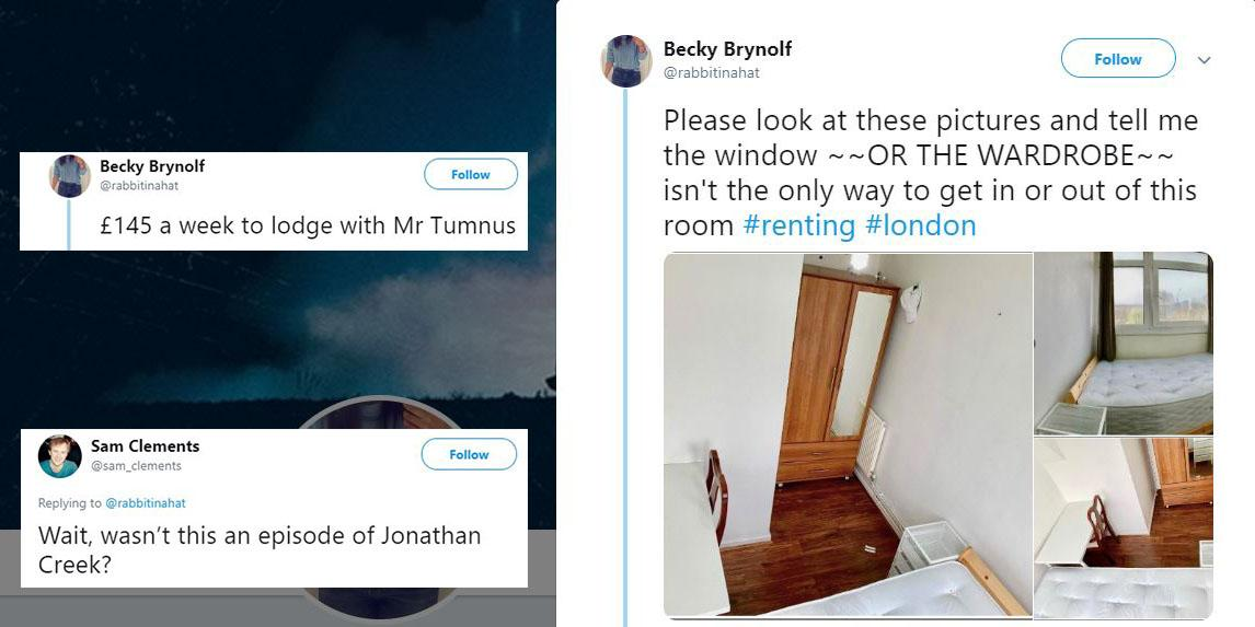 This London rental opportunity has gone viral for all the wrong reasons