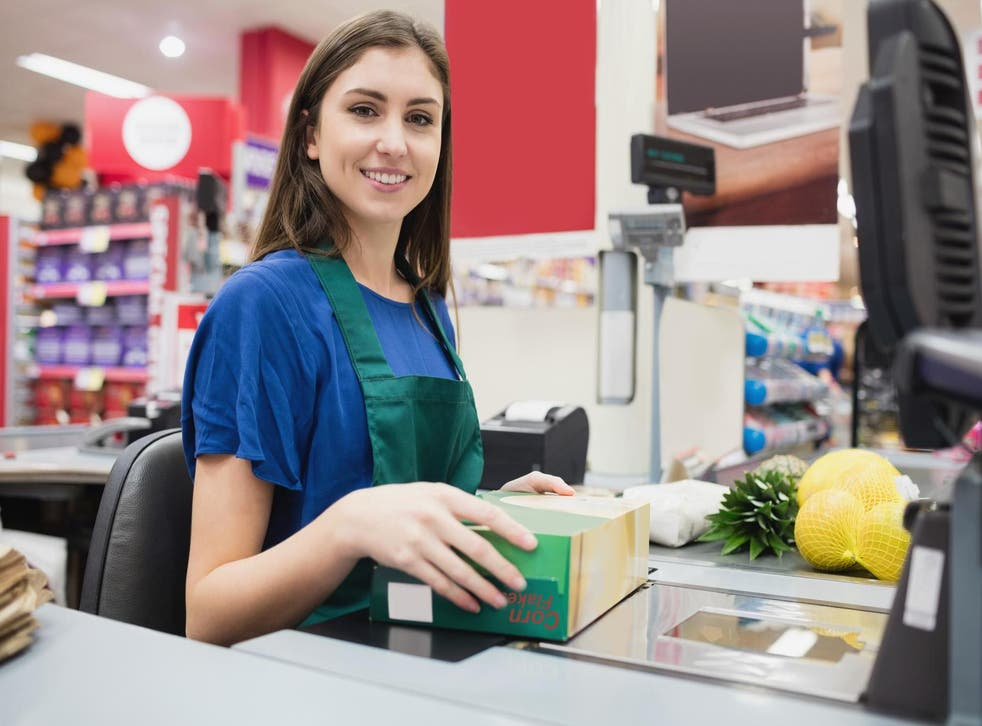 Far fewer teenagers now work as retail cashiers, shelf stackers, postal workers, packers and bottlers