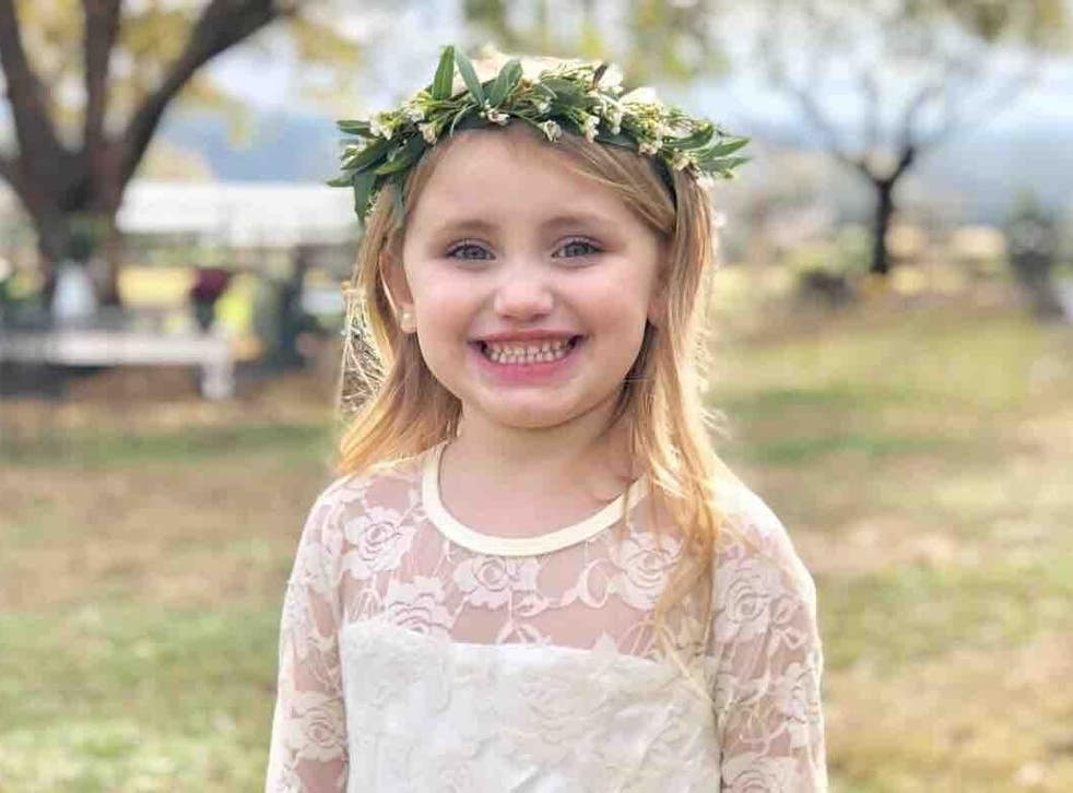 Six-year-old Millie Drew Kelly died of her injuries two days later