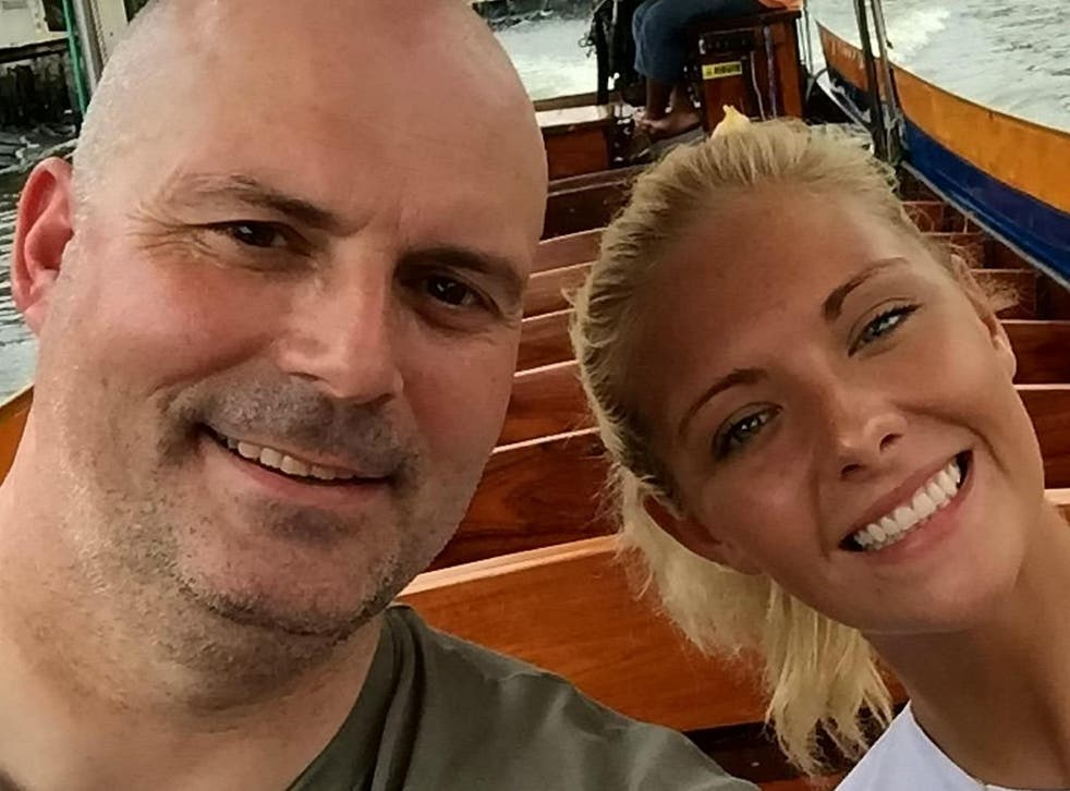 James Geddes flew to Thailand to help his daughter Rebekah after she suddenly fell ill with an unknown illness
