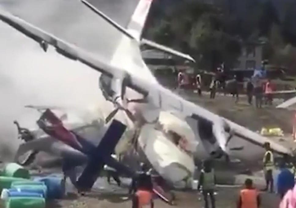 Three dead as plane crashes into helicopter near Mount