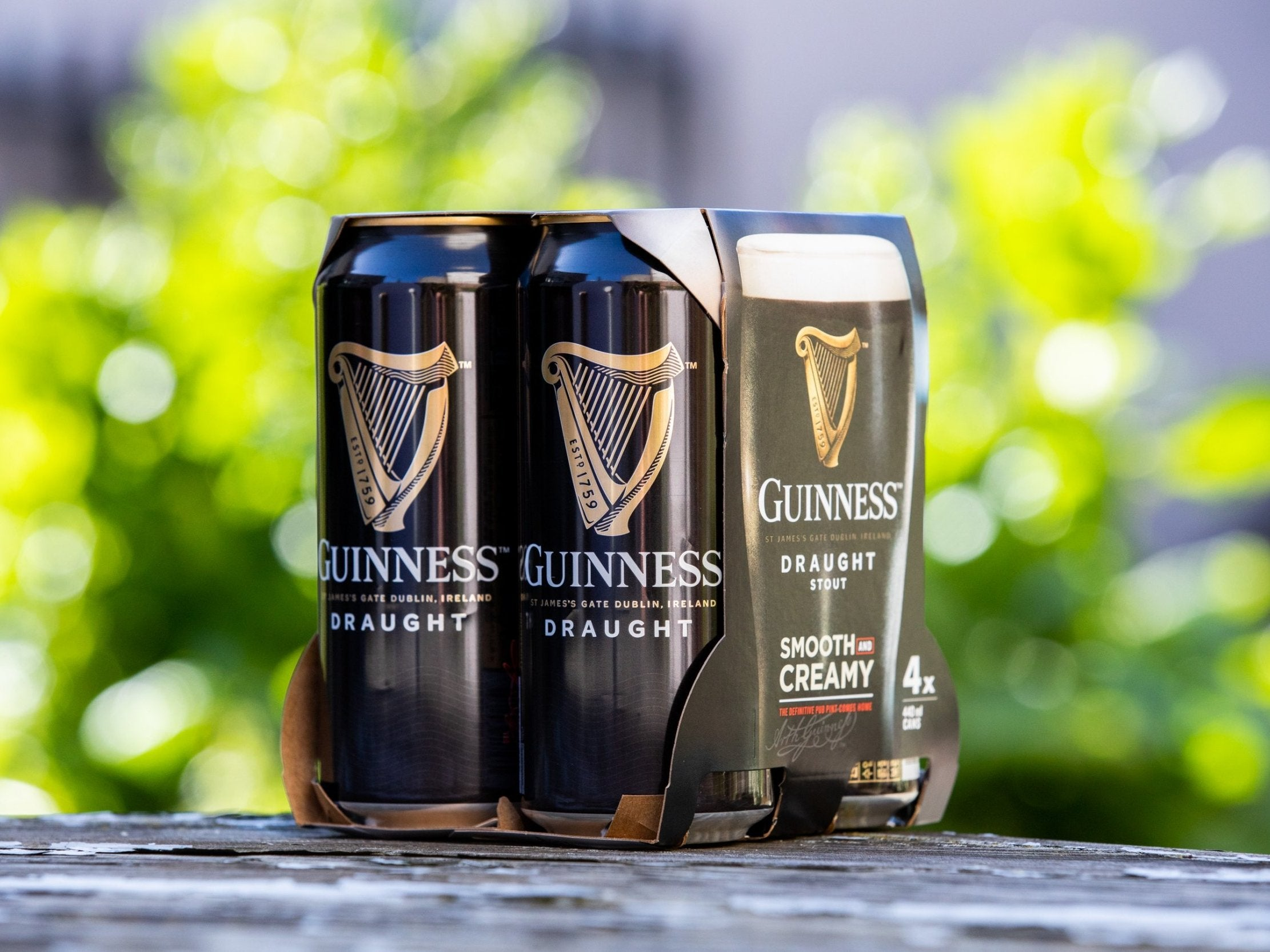 Drinks giant Diageo to remove plastic packaging from Guinness and other brands