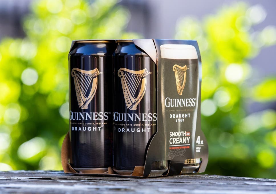 Drinks giant Diageo to remove plastic packaging from Guinness and
