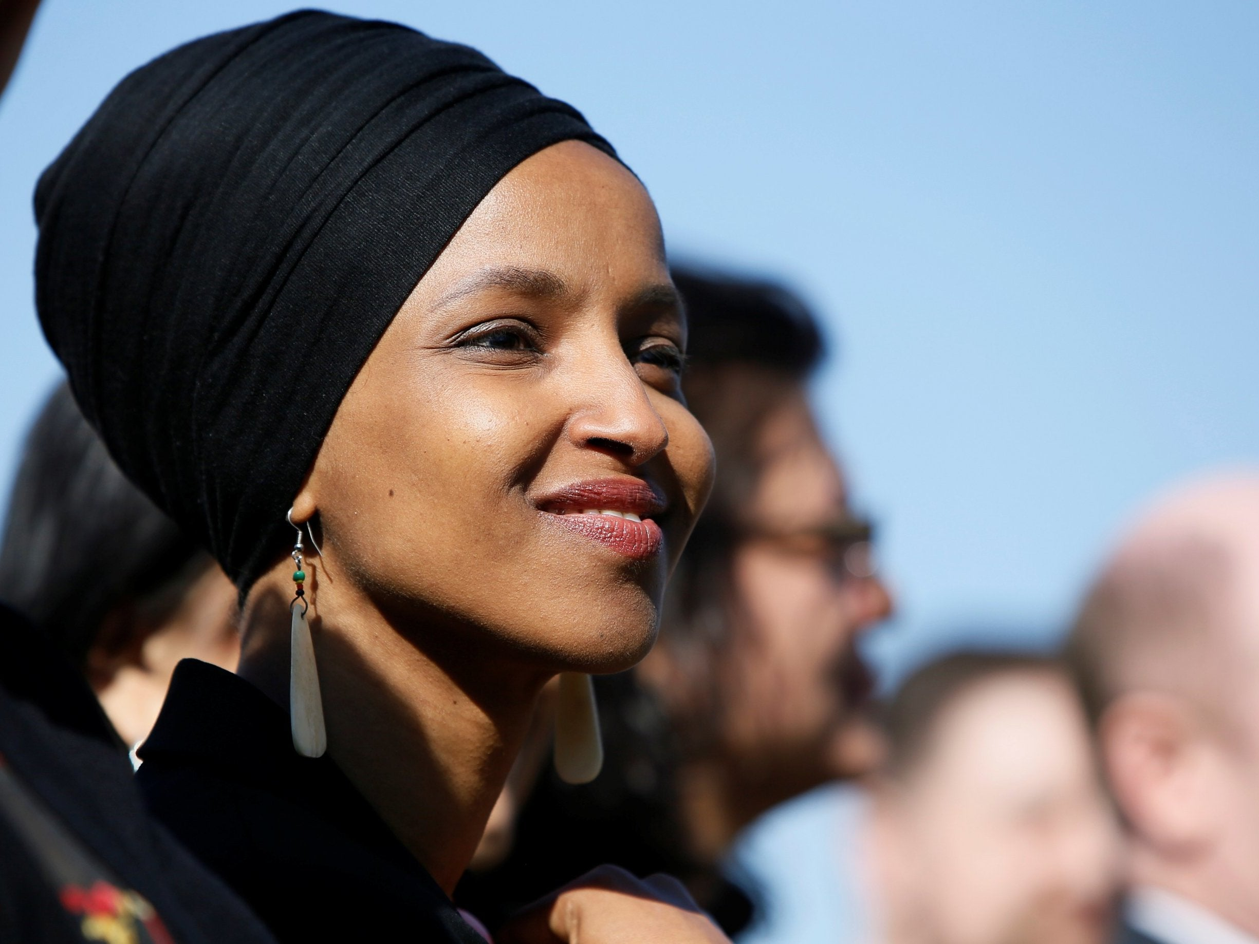 ilhan omar  muslim congresswoman says she has faced