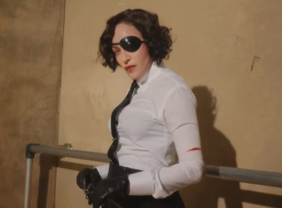 Madonna in the video teaser for her new album, Madame X