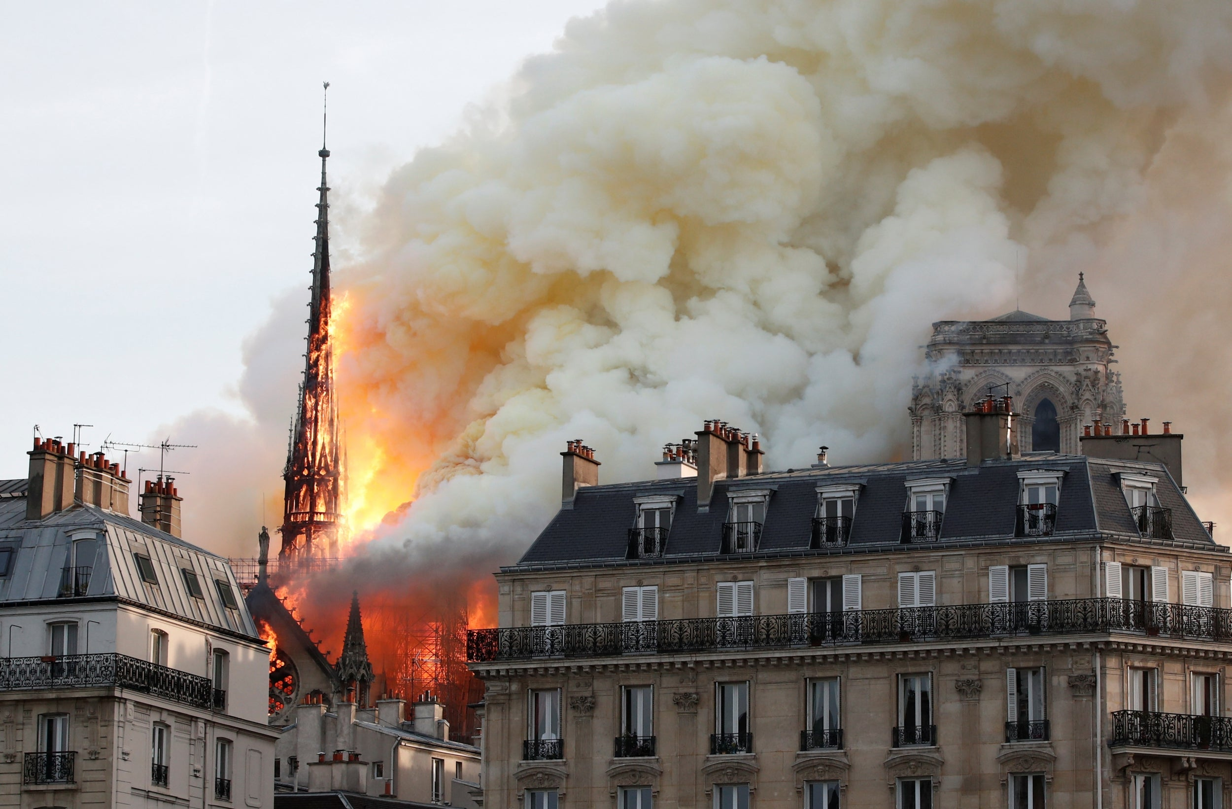 Notre Dame cathedral fire: Devastating pictures and videos show the centuries-old landmark being destroyed
