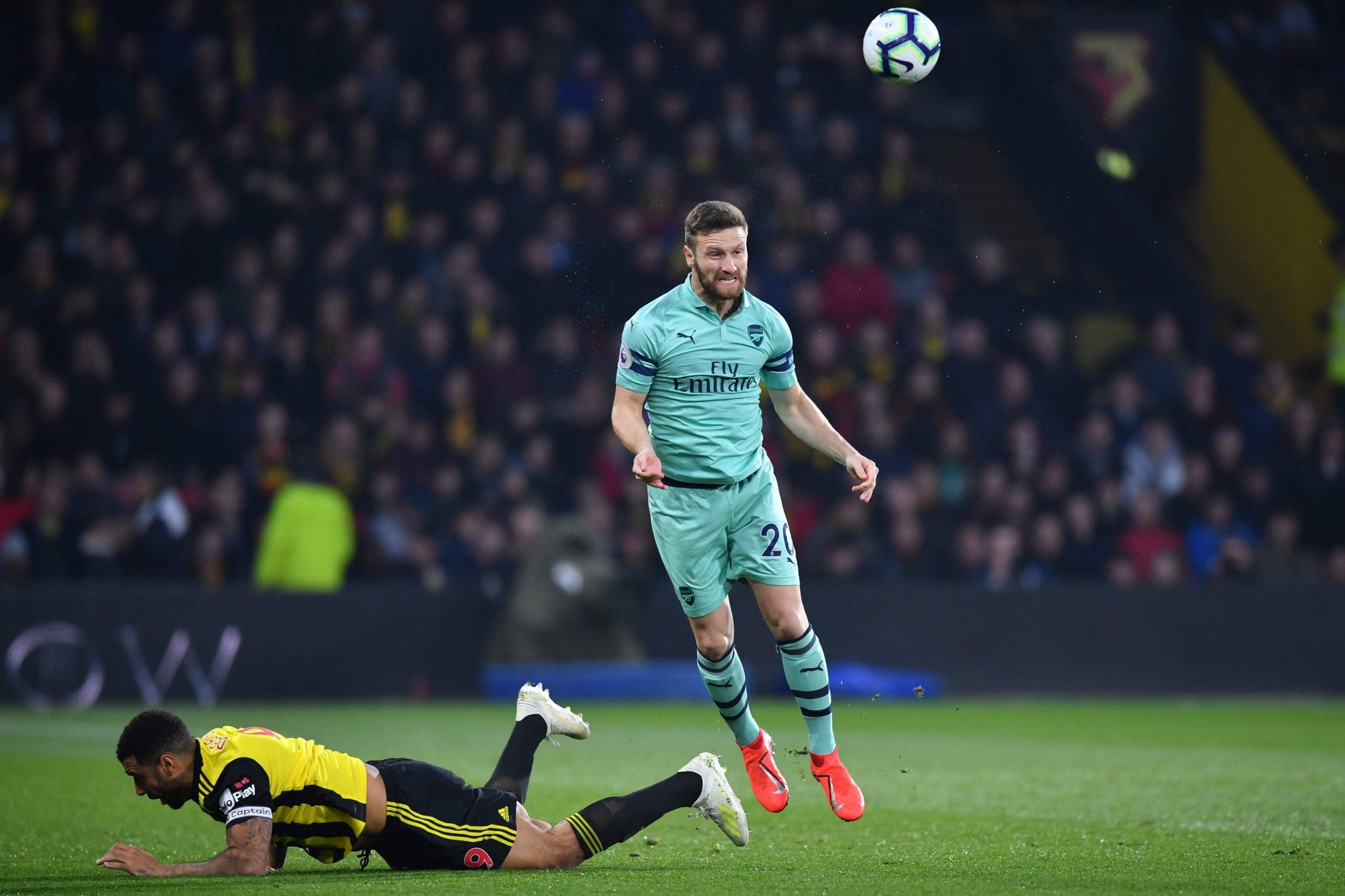 Watford Vs Arsenal Player Ratings Shkodran Mustafi And Alex Iwobi Impress In Crucial Win The Independent