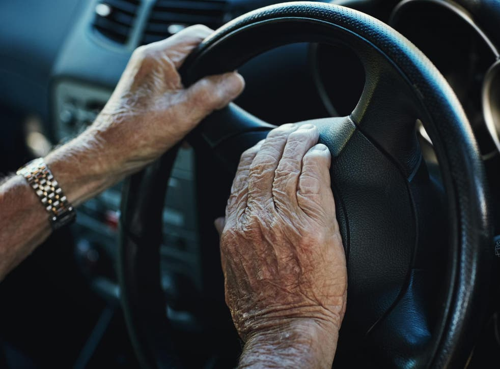 Survey respondents believed older people were better drivers