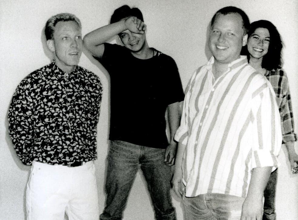 Wave of Mutilation: Dave Lovering (left), Joey Santiago, Black Francis and Kim Deal