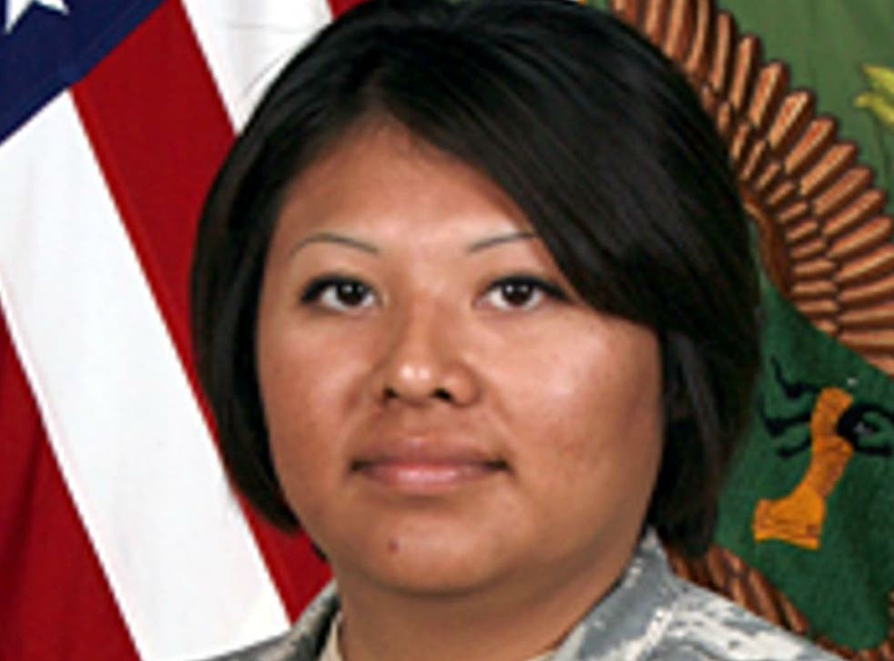 After Barbara Vieyra was killed in combat, her husband was given permission to remain in the US, according to his lawyer