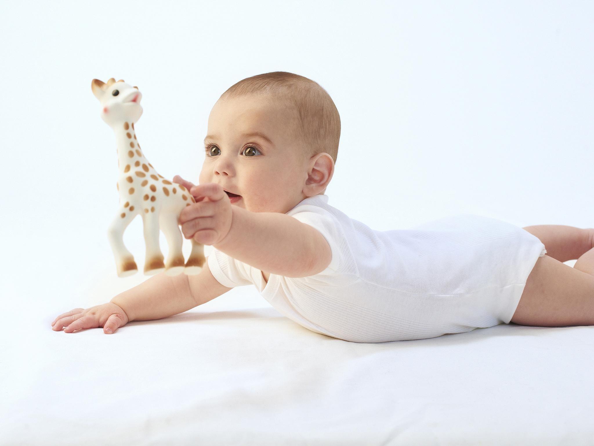 Sophie la Giraffe teether gift box