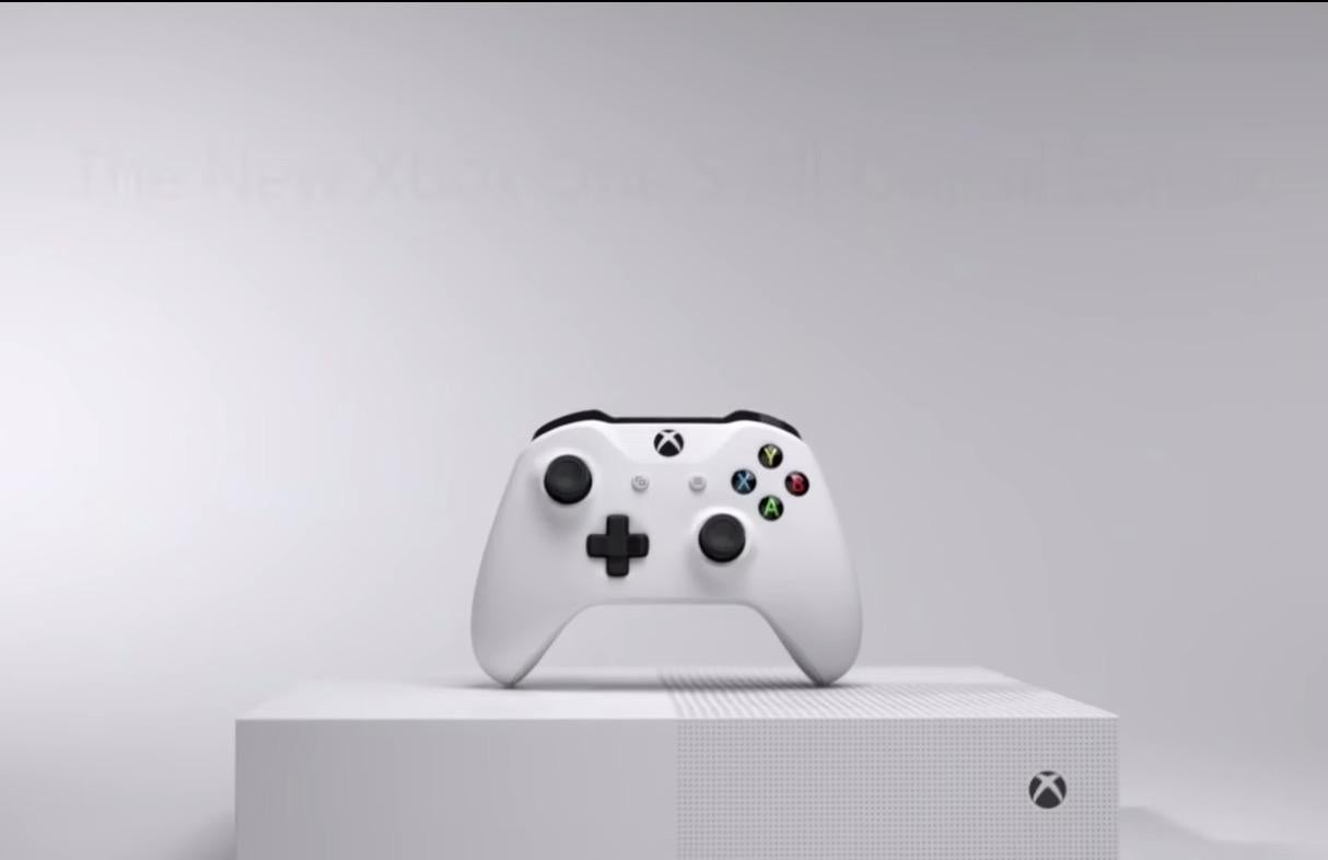 Xbox One S All-Digital Edition: Microsoft reveals new, disc-less version of console