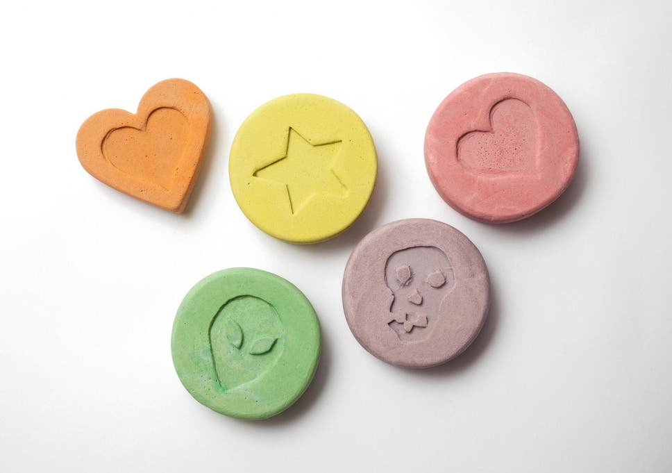 File image of ecstasy pills.