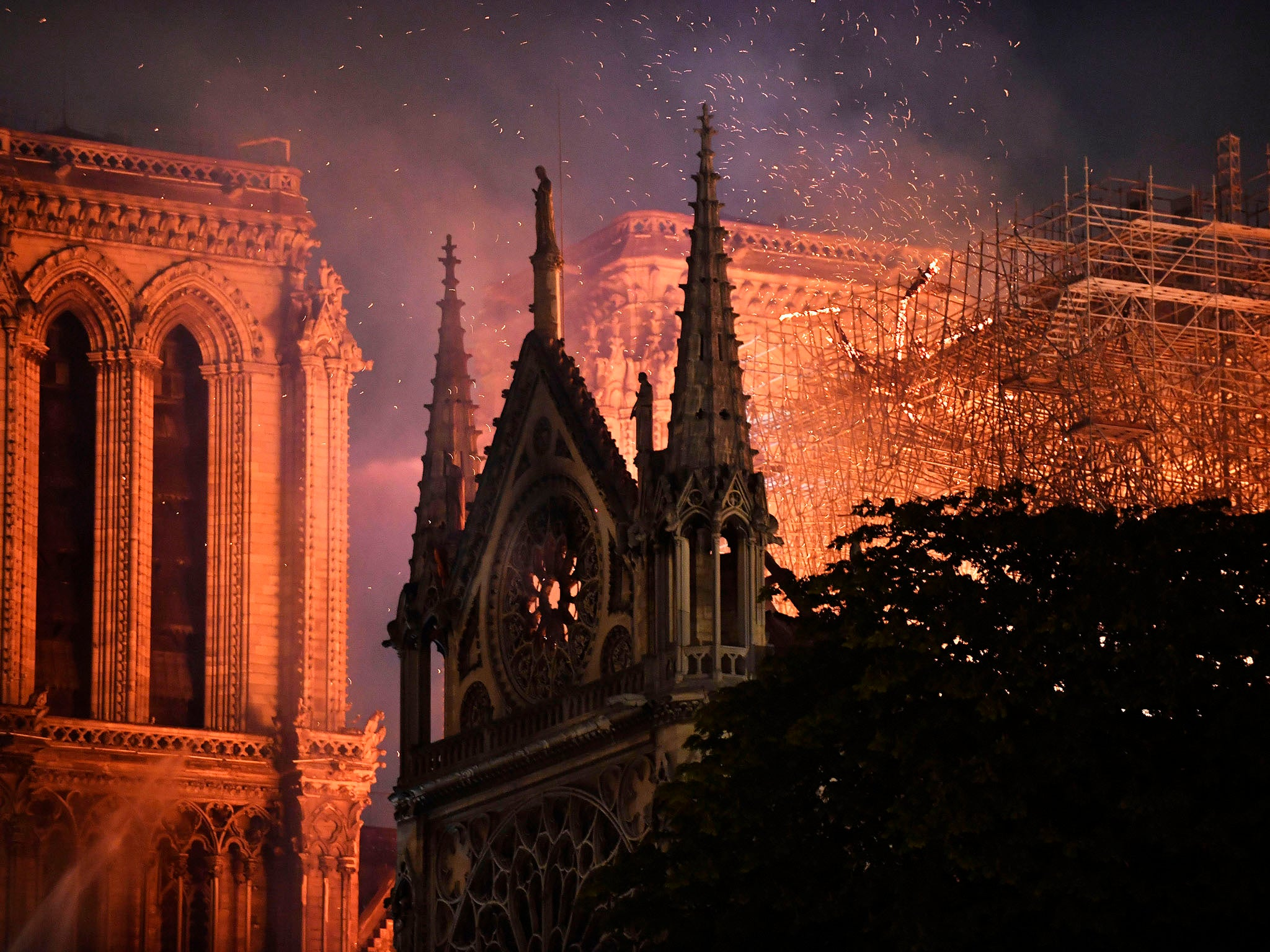 Image result for beauty for ashes notre dame