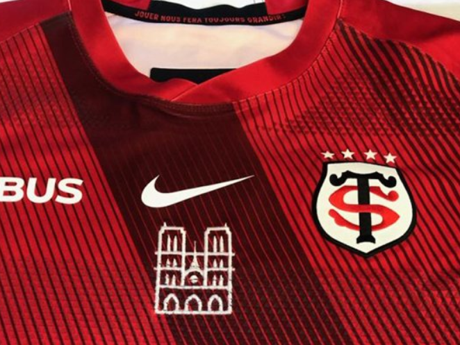 Notre-Dame fire: Toulouse to wear logo of cathedral during European semi-final and auction off kits