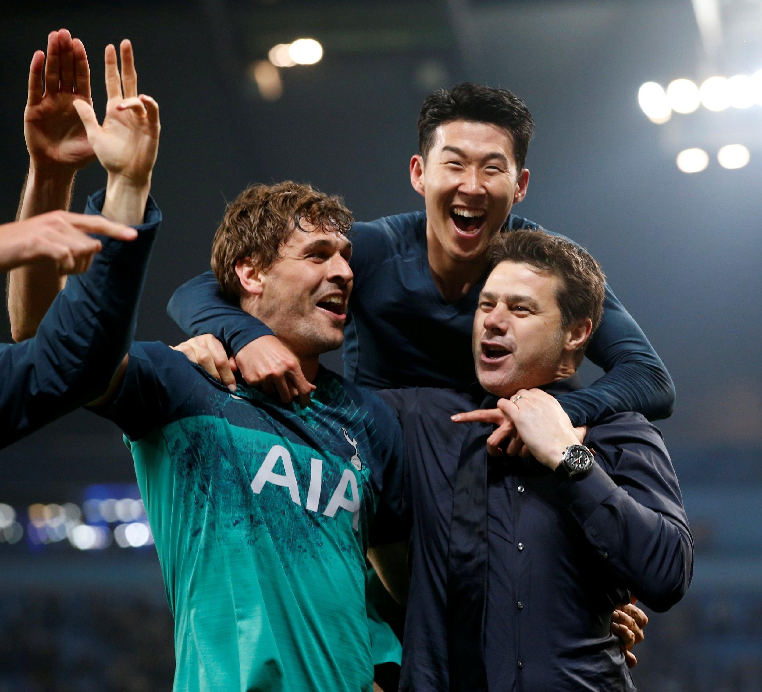 Spurs triumph in classic