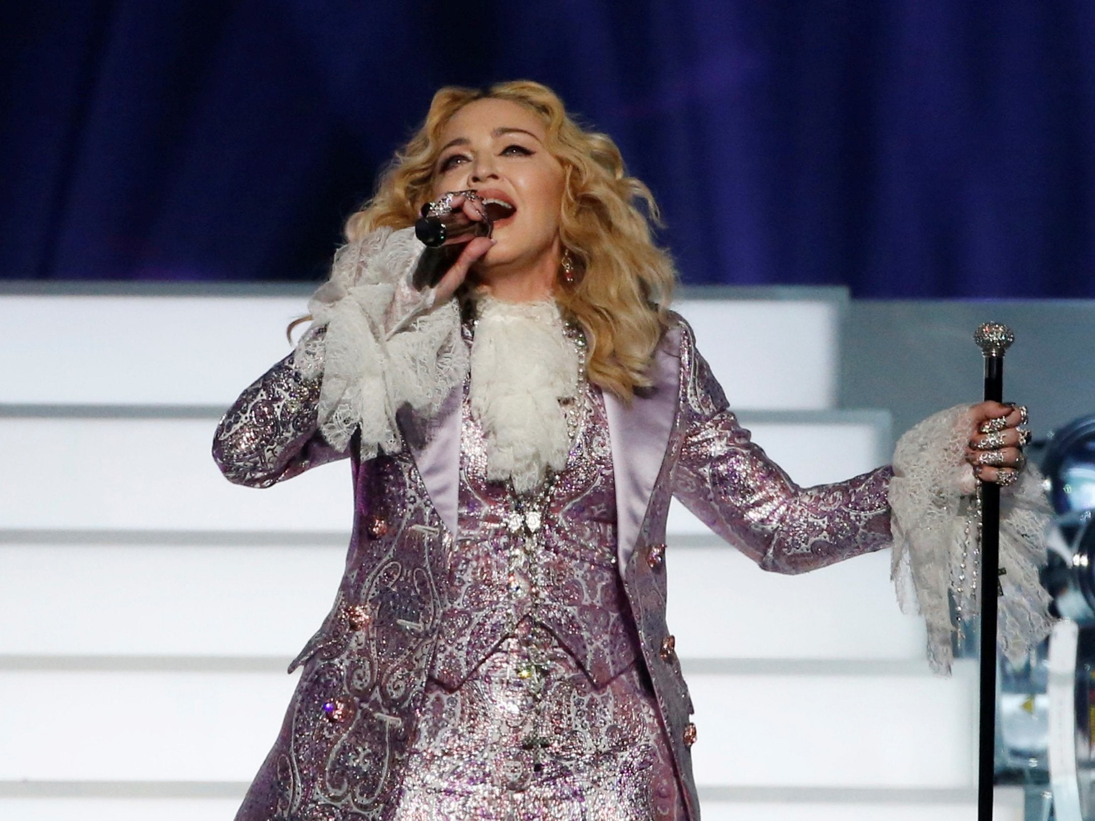 6c05a186aa91 Madonna said she was asked for 'sexual favours' by 'influential ...