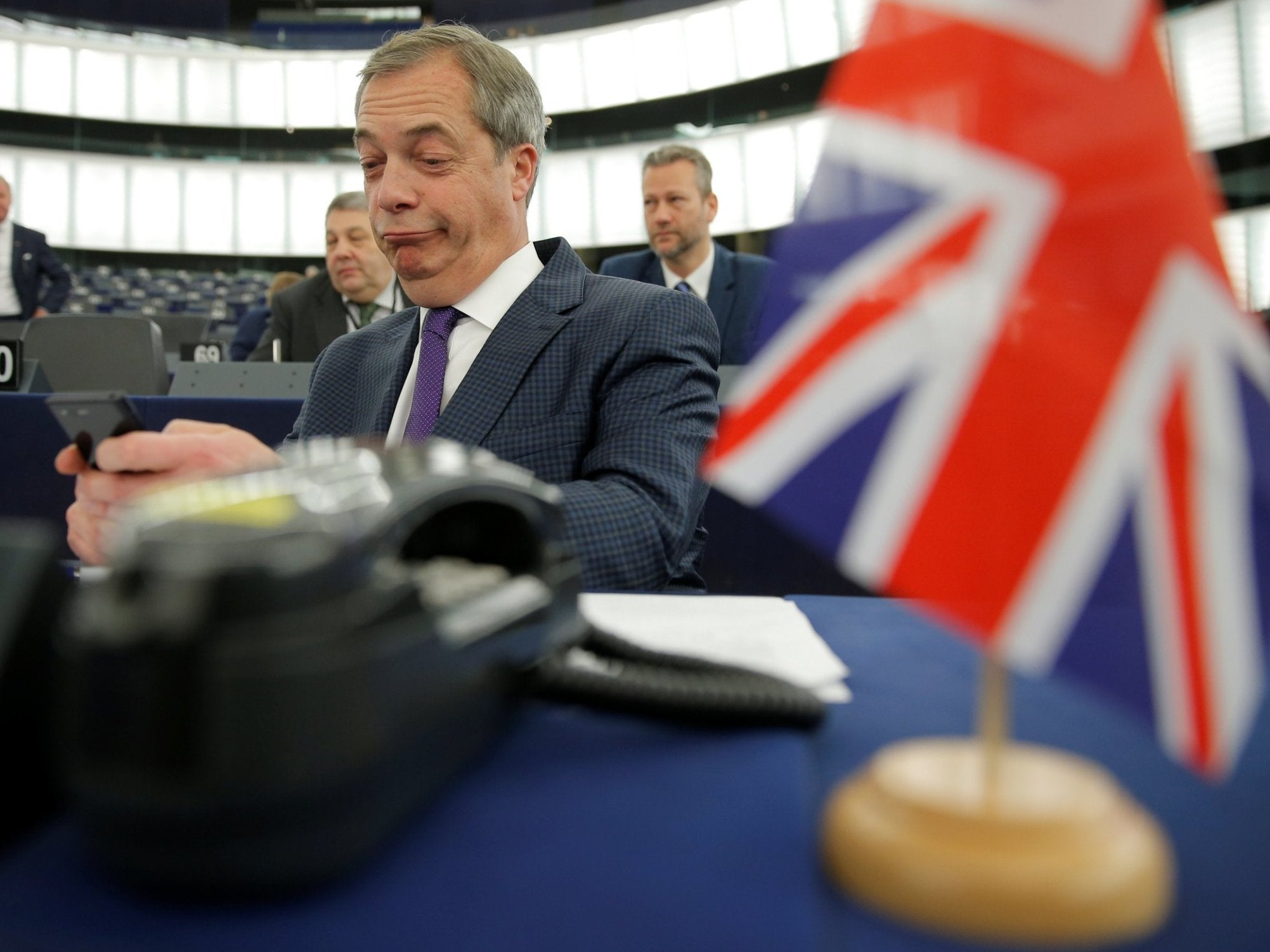Brexit Party MEP complains about not having say on EU law after Brex…