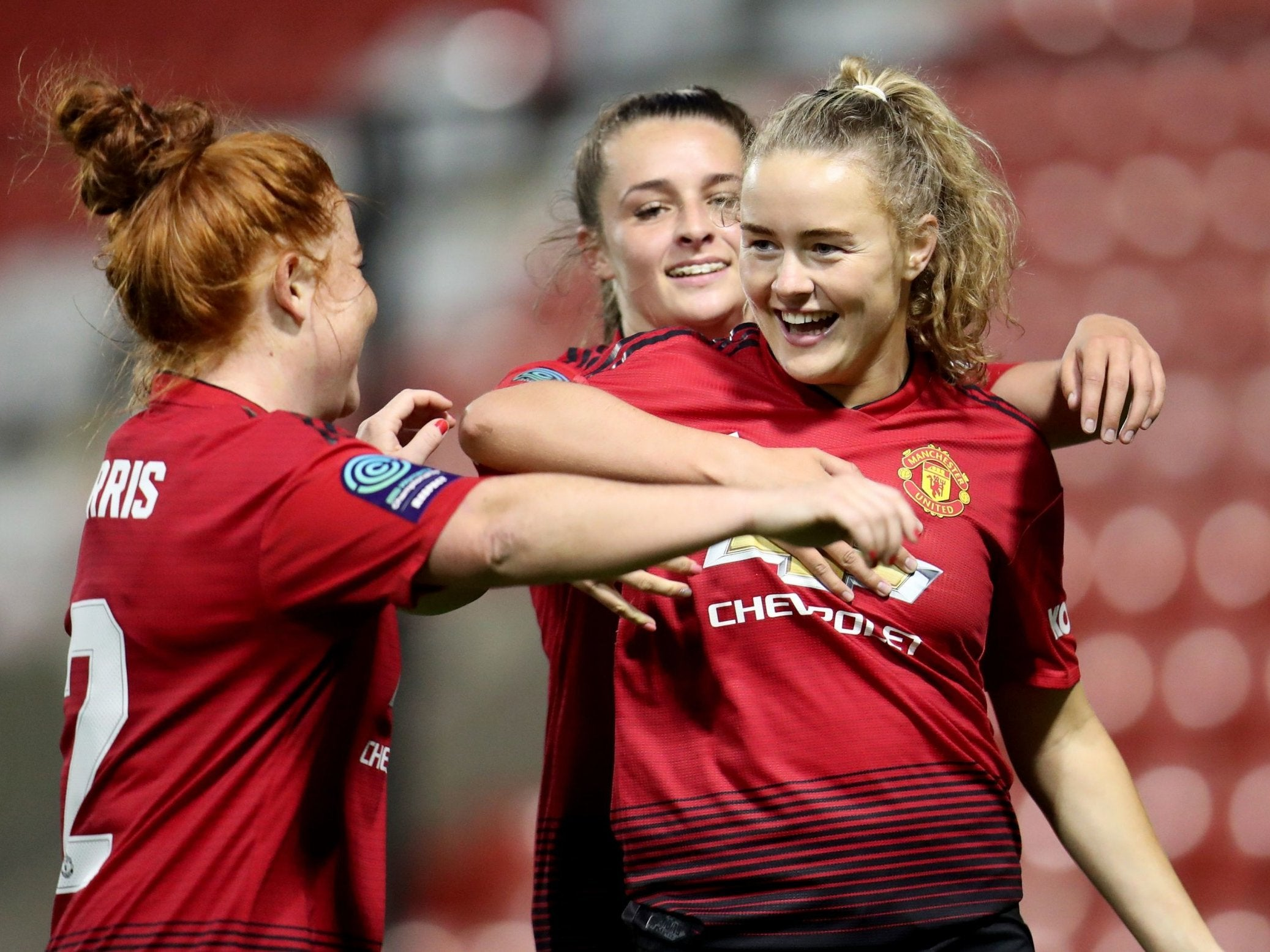 Manchester United Women win promotion to Super League after thrashing Aston Villa