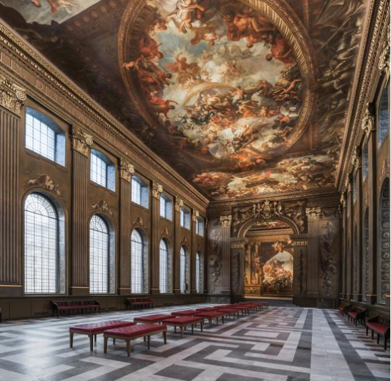 The Painted Hall, Greenwich, London