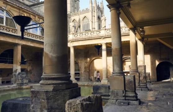 The Roman Baths, Bath, Somerset
