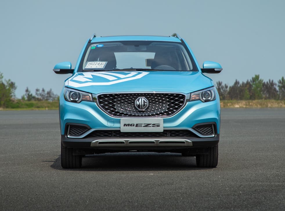 The bold grille, which has little sign of a family resemblance to older MGs, works well in giving it some identity