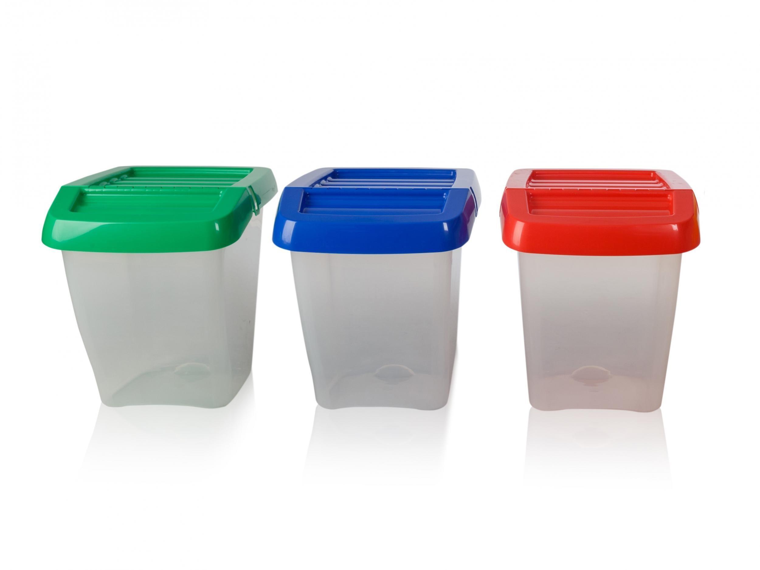 Müll- & Abfalleimer Recycle Bin 50L Rubbish Waste Food ...