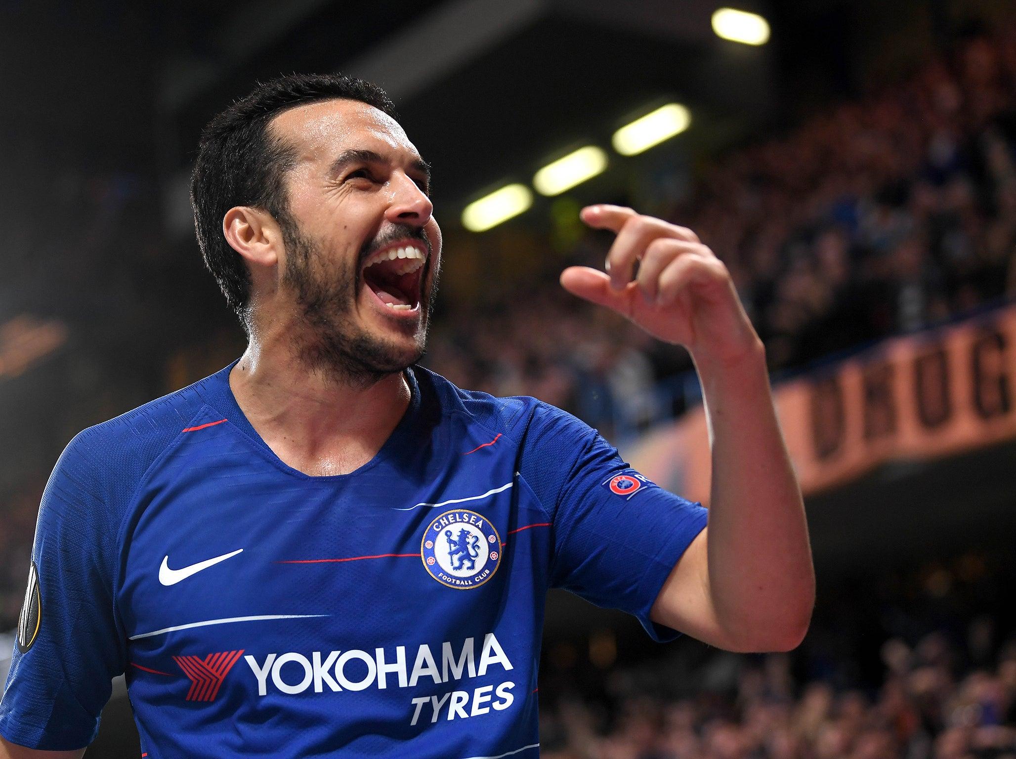 Chelsea vs Slavia Prague, player ratings: Pedro and Olivier Giroud in Europa League quarter-final win