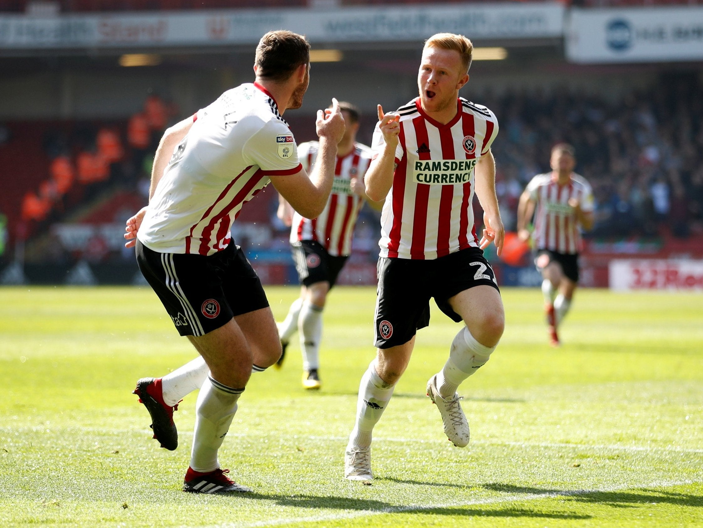 Sheffield United vs Nottingham Forest result: Blades keep up pressure on Leeds with crunch win