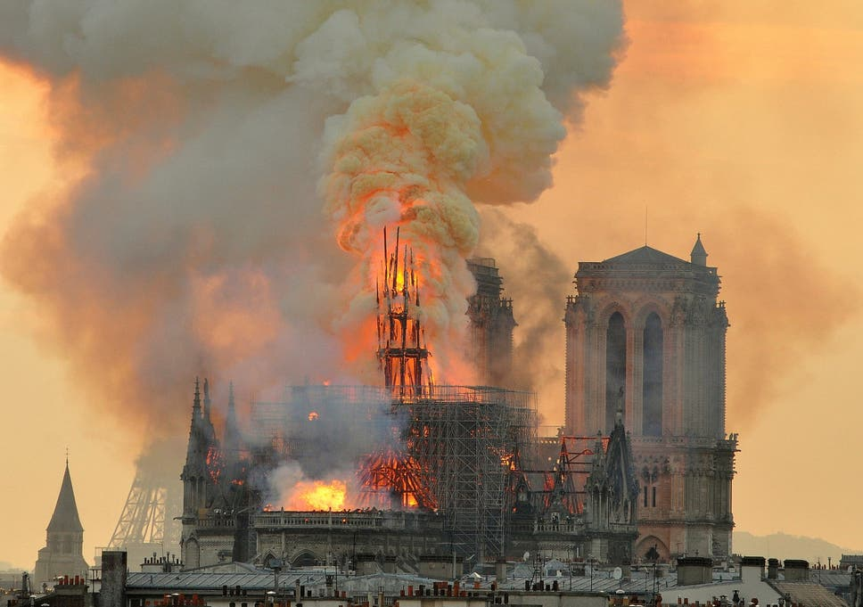 What the Notre Dame fire can tell us about the separation of