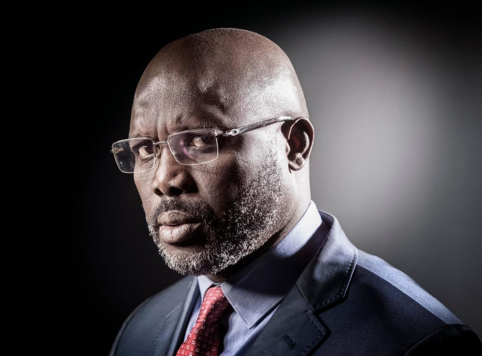 George Weah, who was FIFA's 1995 player of the year, assumed the presidency in January 2018