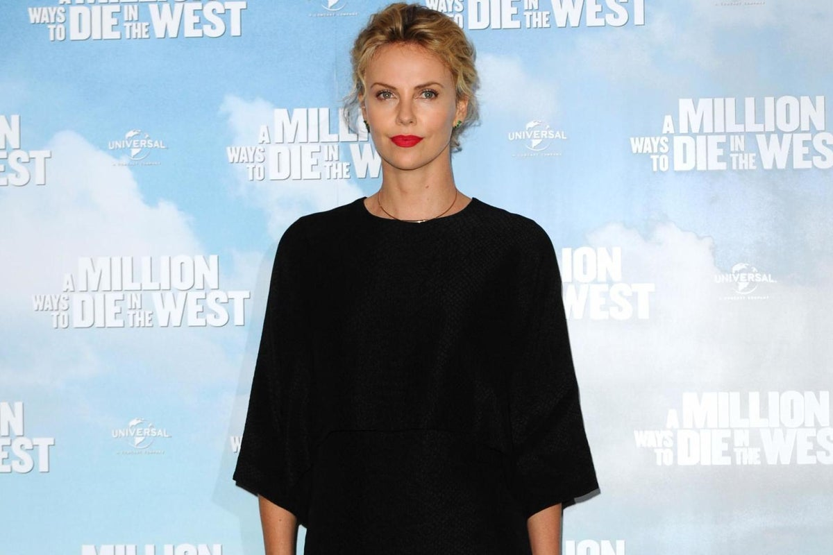 Child charlize theron drags Charlize Theron